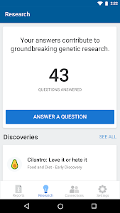 screenshot of 23andMe - DNA Testing : Health & Ancestry version 4.76.2