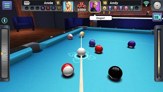 screenshot of 3D Pool Ball version Varies with device
