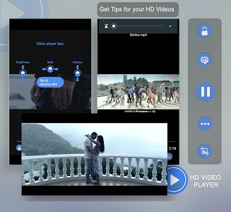 screenshot of 3GP/MP4/AVI HD Video Player version 1.6
