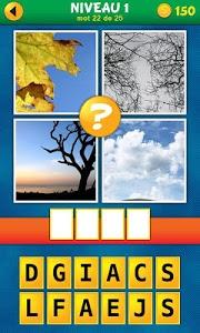 screenshot of 4 Images 1 Mot:Quel est le mot version 1.0.7