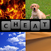 Download 4 Pics 1 Word Cheat All Answers 4.1.4 APK