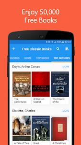 screenshot of 50000 Free eBooks & Free AudioBooks version 5.3.4
