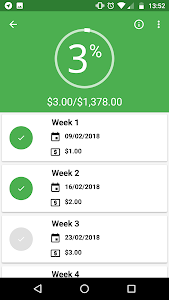 Download 52 Weeks Money Challenge - Free 1.4.7 APK