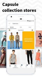 screenshot of AJIO Online Shopping - Handpicked Curated Fashion version 5.2