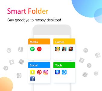 screenshot of APUS Launcher - Theme, Wallpaper, Hide Apps version 3.10.5