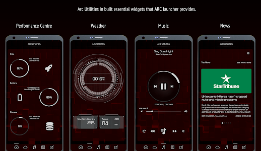 Download ARC Launcher 2018 Themes, DIY , HD Wallpapers 11.8 APK