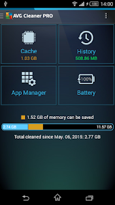 Download AVG Cleaner for Xperia™ 2.4.2 APK