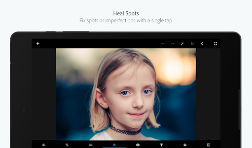 screenshot of Adobe Photoshop Express:Photo Editor Collage Maker version 5.8.561
