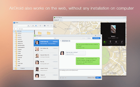 screenshot of AirDroid: File & Notifications version 3.1.2