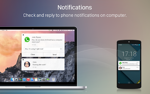 screenshot of AirDroid: Send files to PC/Mac version 3.1.5.1