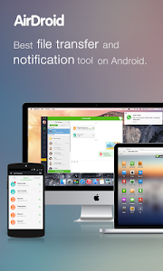 screenshot of AirDroid: File & Notifications version 3.1.4