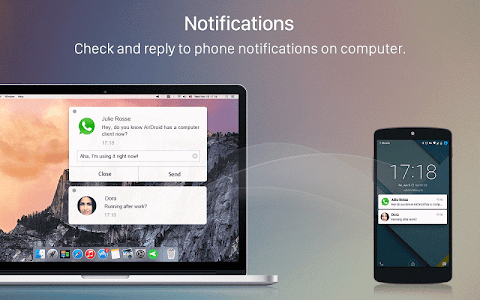 screenshot of AirDroid: Remote access & File version 3.2.6