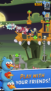 screenshot of Angry Birds Friends version 3.2.0