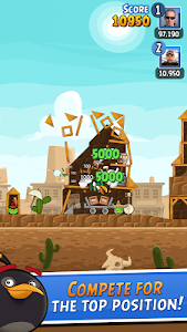 screenshot of Angry Birds Friends version 2.8.1