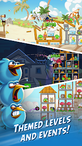 screenshot of Angry Birds Friends version 5.0.0