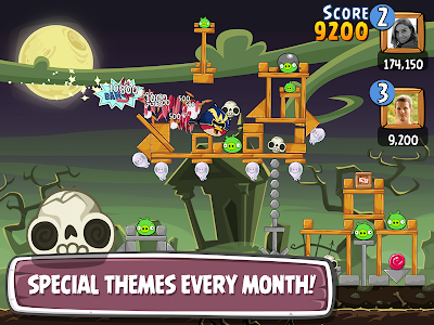 screenshot of Angry Birds Friends version 2.0.0