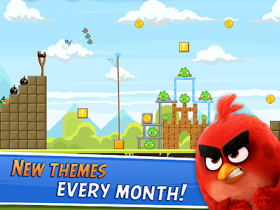 screenshot of Angry Birds Friends version 2.5.0