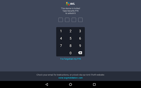 screenshot of AntiVirus FREE 2016 - Android version Varies with device