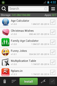 screenshot of Apk Installer version 2.0.0