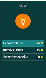 screenshot of App Quiz version 3.7.7z