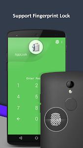 screenshot of AppLock version 3.5