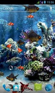 screenshot of Aquarium 3D Live Wallpaper version 2.9