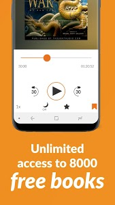 screenshot of Audiobooks.com - Get Any Audiobook Free version Varies with device
