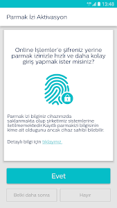 screenshot of Online İşlemler - Mobil version 4.5