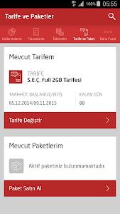 screenshot of Avea Online İşlemler version 3.0.1