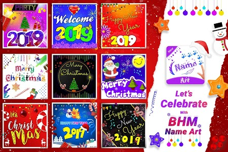 screenshot of BHM Name Art Focus Filter version 7.0