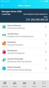 screenshot of BWS Mobile version 1.1.3