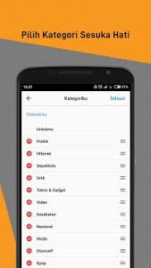 screenshot of BaBe+ - Berita Indonesia version 8.0.4.01
