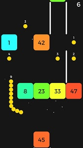 screenshot of Snake VS Block version 1.11