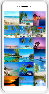 screenshot of Beach Wallpapers version 4.13.28