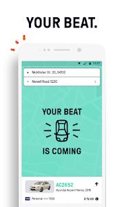 screenshot of Beat - Ride app version 10.34