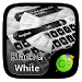 Download Black and White Keyboard Theme 3.2 APK