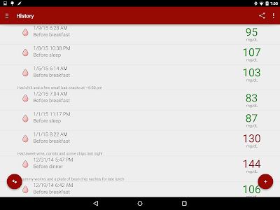 Download Blood Glucose Tracker 1.8.12 APK