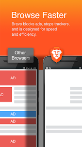 screenshot of Brave Browser: Fast AdBlock version 1.0.3