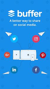 screenshot of Buffer: Social Media, Twitter version 6.0.4