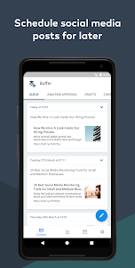 Download Buffer: Manage Twitter, Facebook, Social Media 7.0.7 APK