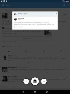 screenshot of Buffer: Social Media, Twitter version 5.5.5