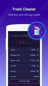 screenshot of Cache Cleaner-DU Speed Booster (booster & cleaner) version 3.1.6.1