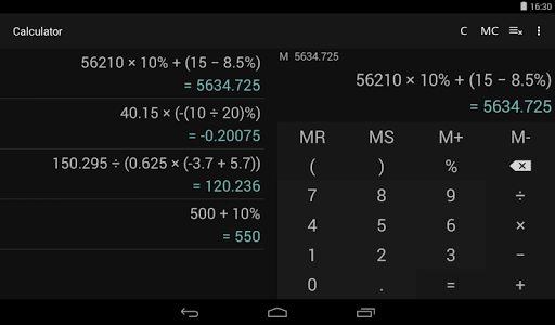 Download Calculator 1.3.1 APK