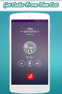 screenshot of Call From Tom Cat version 1.0