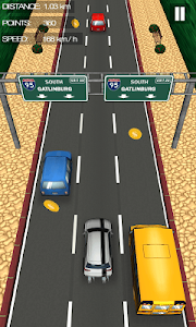 screenshot of Car Traffic Race version 12