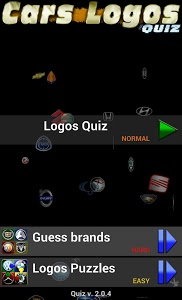 screenshot of Cars Logos Quiz HD version 2.0.7