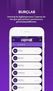 screenshot of Cepmax version 2.2.0