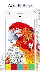 screenshot of Chamy - Color by Number version 1.2