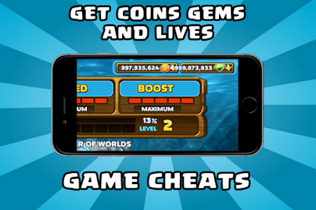 screenshot of Cheats For Hungry Shark version 1.2