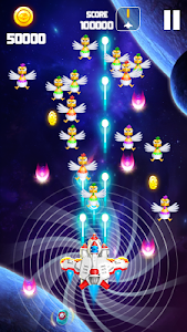Download Chicken Shooter: Space Shooter 1.6 APK